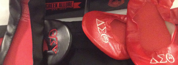 Rollable Flats ready for Delta Sigma Theta Sorority, Inc. Centennial Celebration