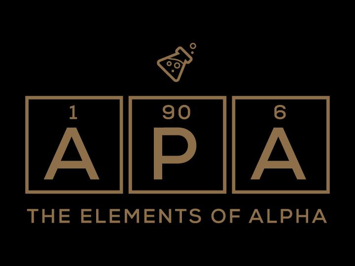greek allure 187 alpha phi alpha elements